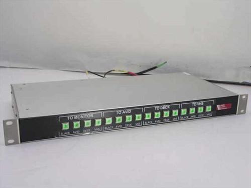 Sierra Video Systems 4x4  Manzanita Video Switcher Router - 803145