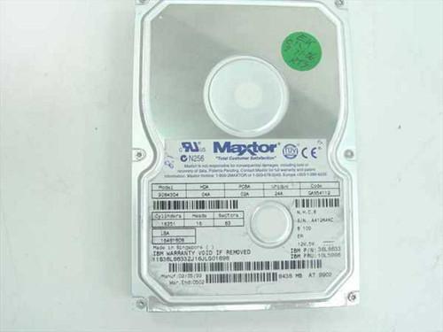 """IBM 8.4GB 3.5"""" IDE Hard Drive - Maxtor 90843D4 (10L5996)"""