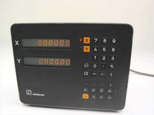 Heidenhain VRZ 720B  2-Axis XY Digital Display