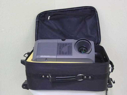 Sharp XG-E690U  Vision LCD Projector with Rolling Travel Case