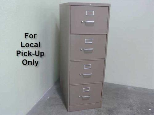 HON Legal File Cabinet  Legal Vertical 4-Drawer File Cabinet