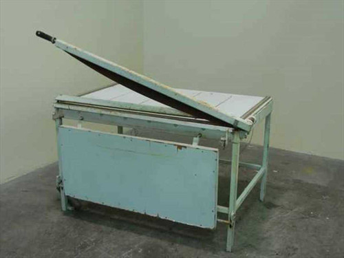 """Heavy Duty Paper Cutter  45"""" Guillotine Paper Cutter / Shear with Table"""