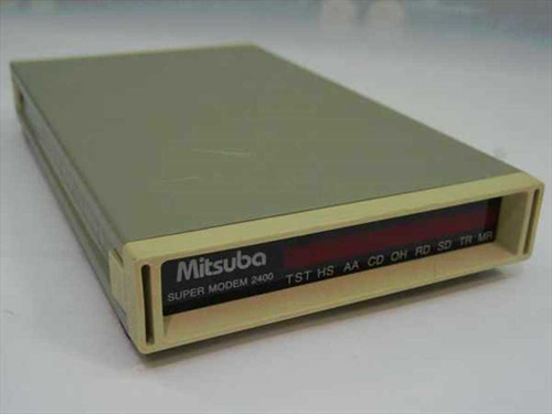 Mitsuba 2400 BPS  Super Modem MNP Class 5