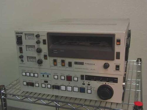 Sony BVU-800  U-Matic VTR Videocassette Edit Deck (As-Is)