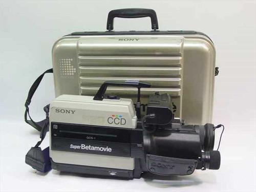 Sony GCS-1  Super Betamovie Recorder in case