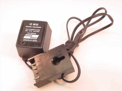 E.D.S. Inc 2236  Anton Bauer Micro Charger C 20 for B 20 Battery
