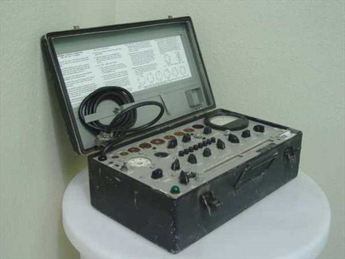 Military TV-10D/U  TV-10D/U Electron Tube Test Set