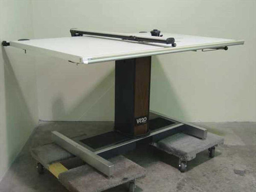 "Hamilton Industries VR20  Stratasteel 40""x60""Drafting Table w/ Vemco 612 Arm"