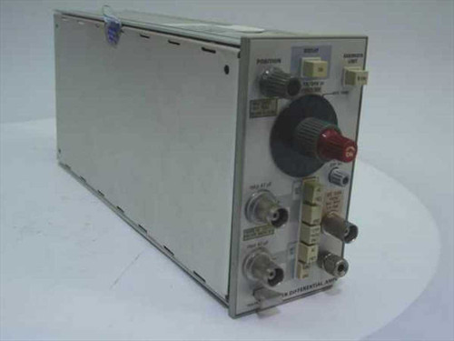 Tektronix 5A21N  Differential Amplifier, 1 Mhz, Plug In