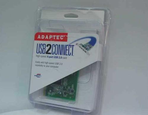 Adaptec AUA-4000V  USB2 Connect 4-Port USB 2.0 card