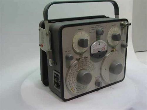 General Radio 1650-B  Impedance Bridge in grey case