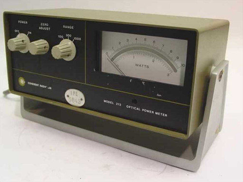 Coherent Radiation 213  Optical Power Meter