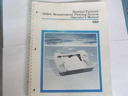 HP 07090-90002  7090A Measurement Plotting Operations Manual