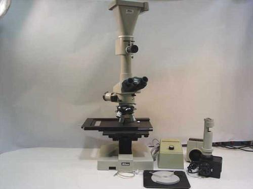 Nikon Optiphot  Trinocular BrightField Darkfield Microscope with