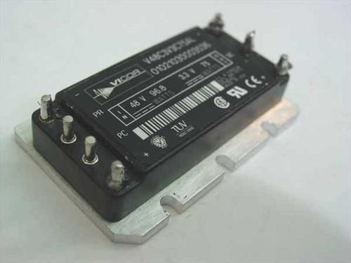 Vicor V48C3V3C75AL  DC-DC Converter Module 75W