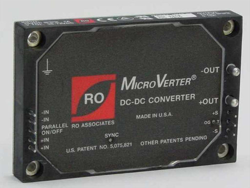 RO Associates uV48-24  MicroVerter DC-DC Converter 48 VDC to 24 VDC