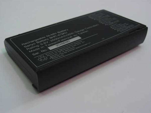 Sanyo 95480402  Rechargeable Ni-MH Battery 8HR-4/3AU - As is for