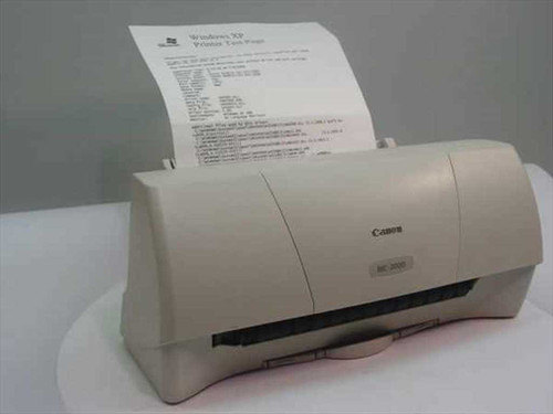Canon BJC-2000  Color Bubble Jet Printer Model K10182