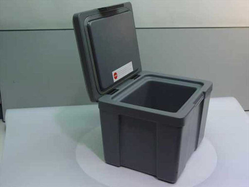 Schwab Grey  Media Cooler Storage Box