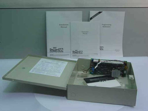 DSC PC5010  Power 832 Security Panel and Cabinet