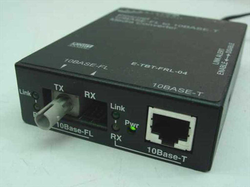 Transition Networks E-TBT-FRL-04  Ethernet 10BASE-FL to 10Base-T Media Converter