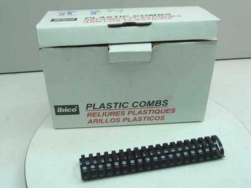 "Ibico 15322  2"" Black Plastic Binding Combs - 40 pcs"