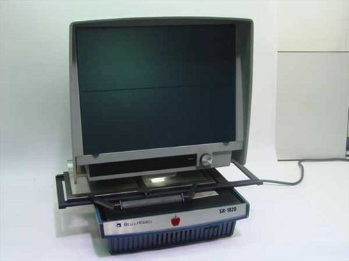 Bell & Howell SR-1020  Microfiche Reader with cover