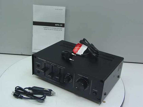 Realistic MPA-25  Mobile PA Amplifier - 12VDC and 220 VAC 32-2033A