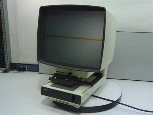 Indus 4601 01-N  Microfiche Reader