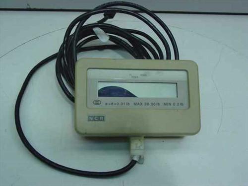 NCR 7825-0105  7870 Customer Display