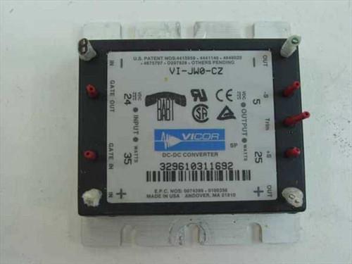 Vicor VI-JW0-CZ  DC-DC Converter 24 VDC to 5VDC
