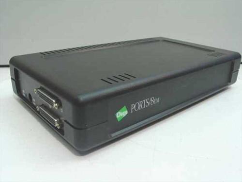 Digi 50000479  Ports/8em RJ45 - 8-Port Server