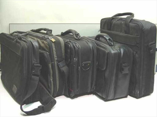 Various Black   Laptop Carrying Case Bags - large various sizes