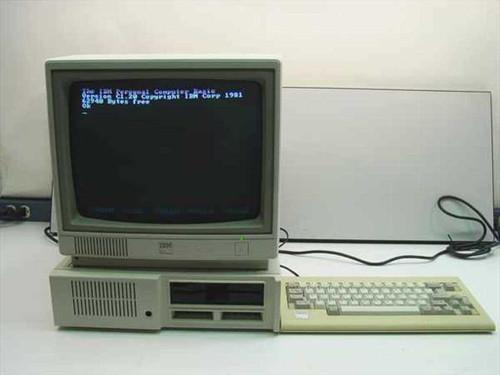 IBM 4860  IBM PC jr computer 128k ram 360k floppy