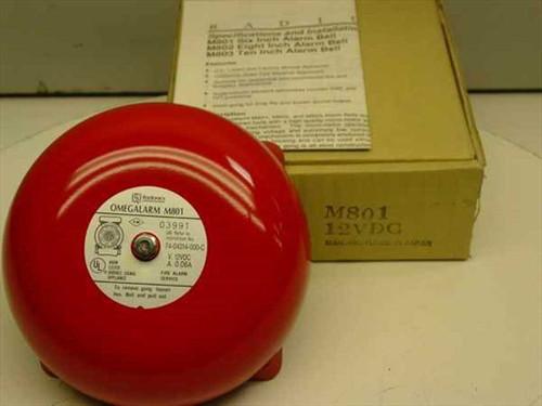 Radionics M801  12 Volt 6 Inch Alarm Bell