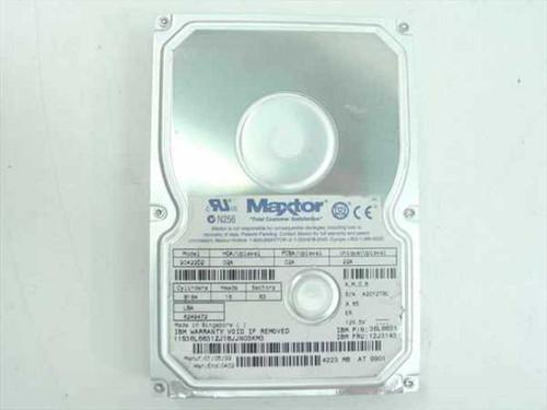 """IBM 12J3143  4.2GB 3.5"""" IDE Hard Drive - Maxtor 90422D2"""
