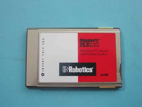 US Robotics  XJ1288  PCMCIA 28.8 Modem With XJACK