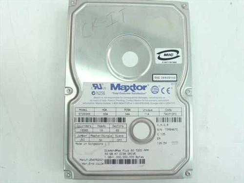 """Maxtor 5T030H3  30.0GB 3.5"""" IDE Hard Drive"""