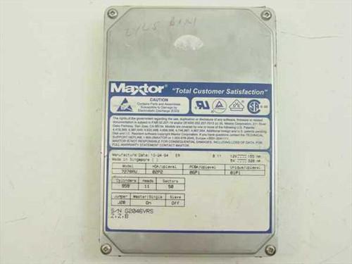 """Maxtor 7270AV  270MB 3.5"""" IDE Hard Drive"""
