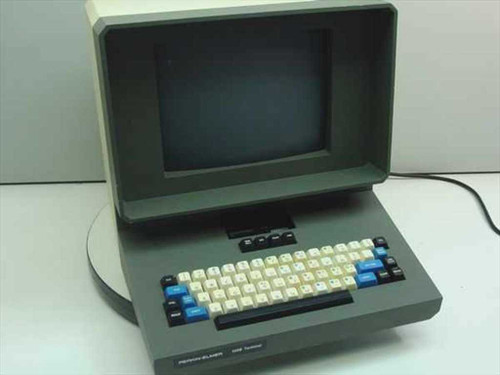 Perkins-Elmer 550 B  Terminal w/built in keyboard