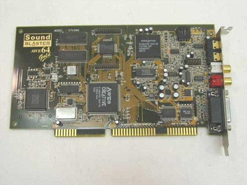 Creative Labs CT4390  Sound Blaster AWE64 Gold Sound Card