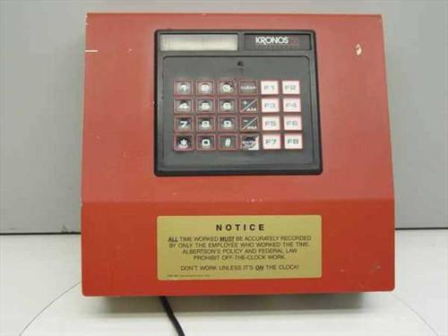 Kronos 8600161-103  55 Timekeeper Vintage Time Clock