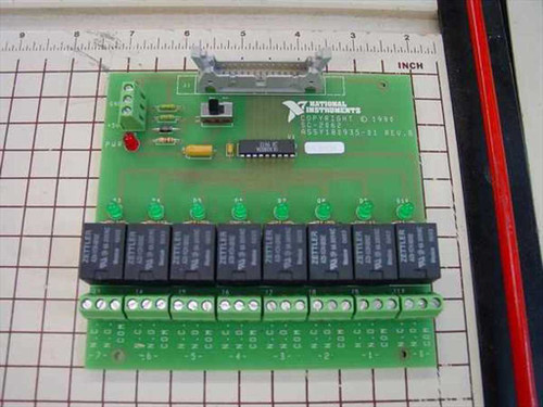 National Instruments SC-2062  Low cost 8 channel relay