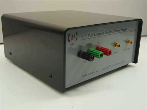 New Focus 0901  &/-15 Volt Current Limited Power Supply