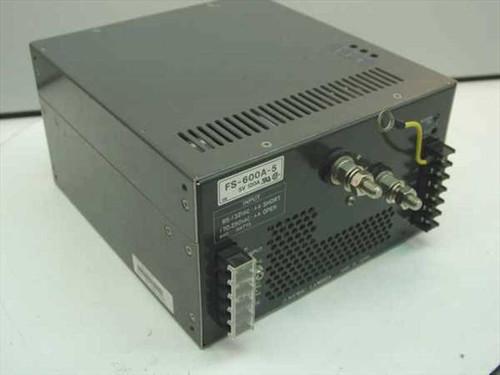Nemic-Lambda FS-600A-5  Power Supply - As Is No output