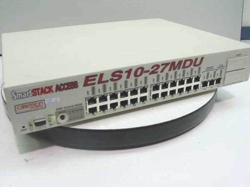 Cabletron Systems SmartStack Access 27-Port Hub (ELS10-27MDU)