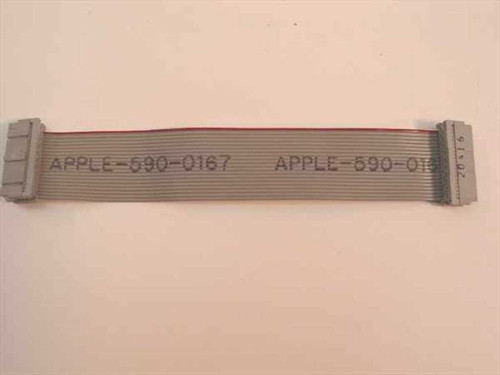"Apple 590-0167  20 Pin Floppy Drive Ribbon Cable 6.5"" long"