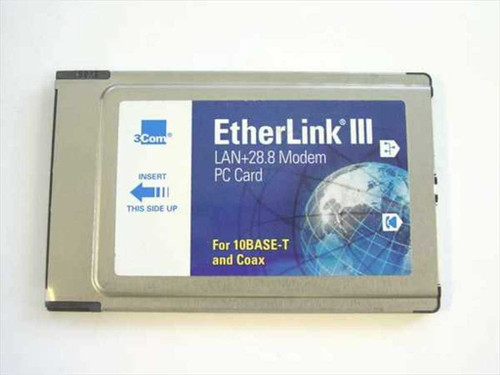 3COM 3C562B/3C563B  Standard and PCMCIA Card 2.1 - 16-0034-000
