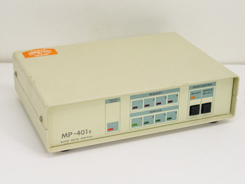 Auto Data Switch  MP-401B  Data Switch 4 Computers to Printer