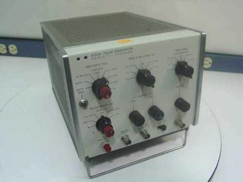 Hewlett Packard 8002A  Pulse Generator Signal 10MHz